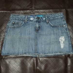 Delia's denim skirt